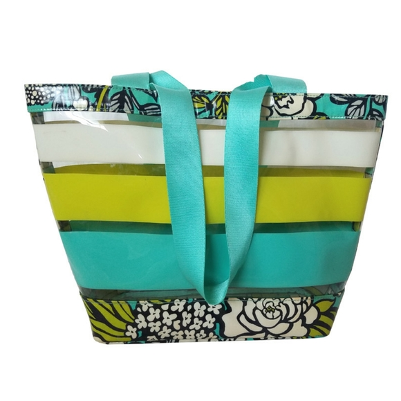 Vera Bradley Handbags - Vera Bradley Island Bloom Small Resort Tote Bag